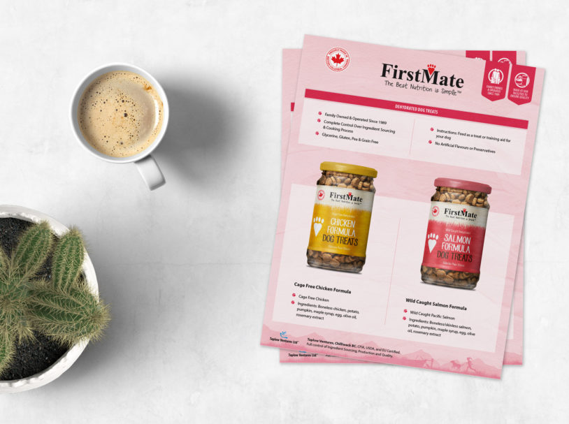 FirstMate Package Design and Collateral Material