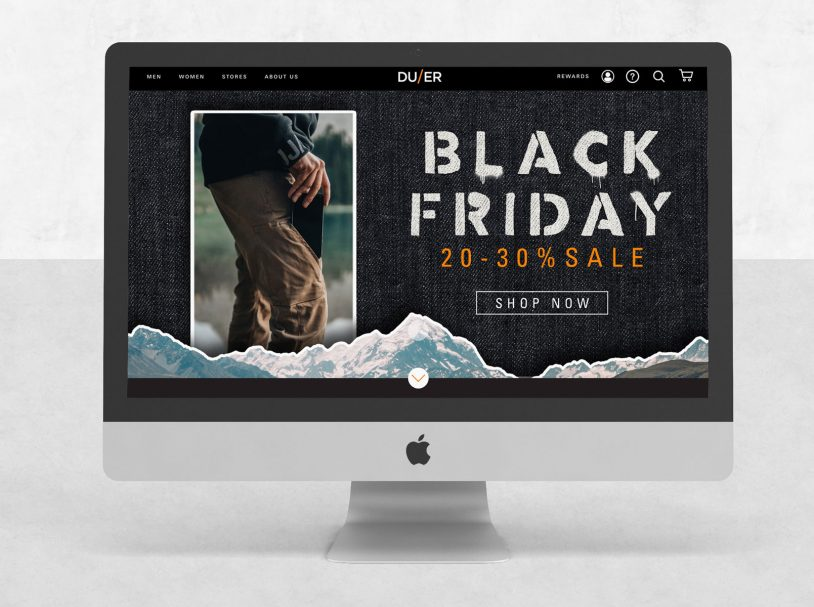 DUER – Black Friday and Holiday