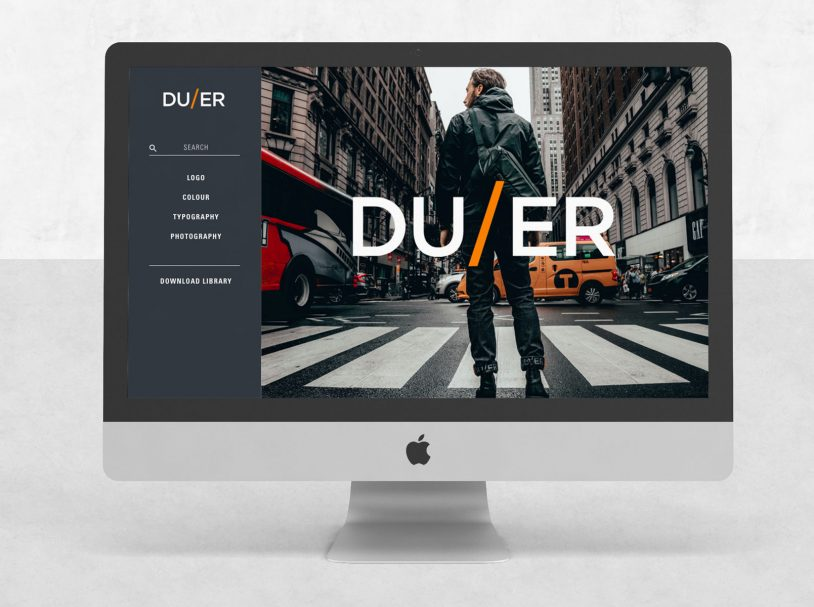 DUER – Branding portal