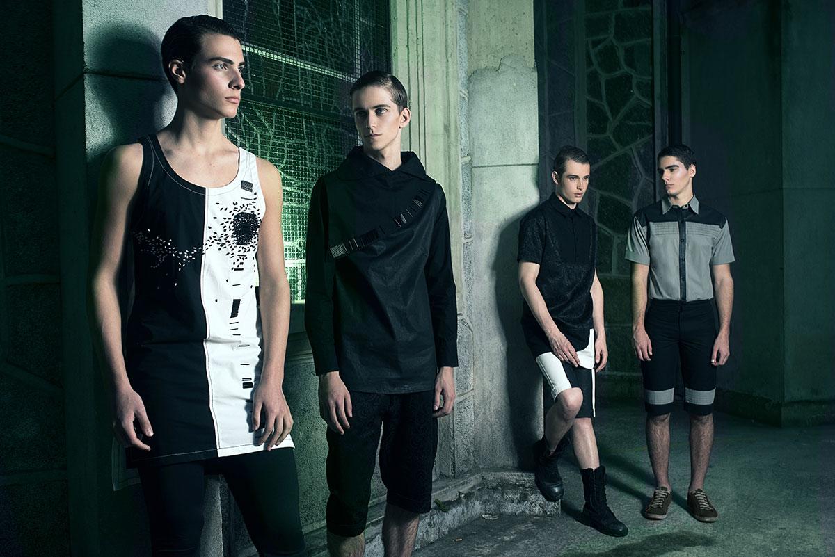 Gustavo Chams | Igor Dadona | Male Model Scene | Fashion Editorial Photography | Church | Green | Nicholas Costa | André Kherwald | Way Models | Shadowy Shadowy | Edgar Allan Poe