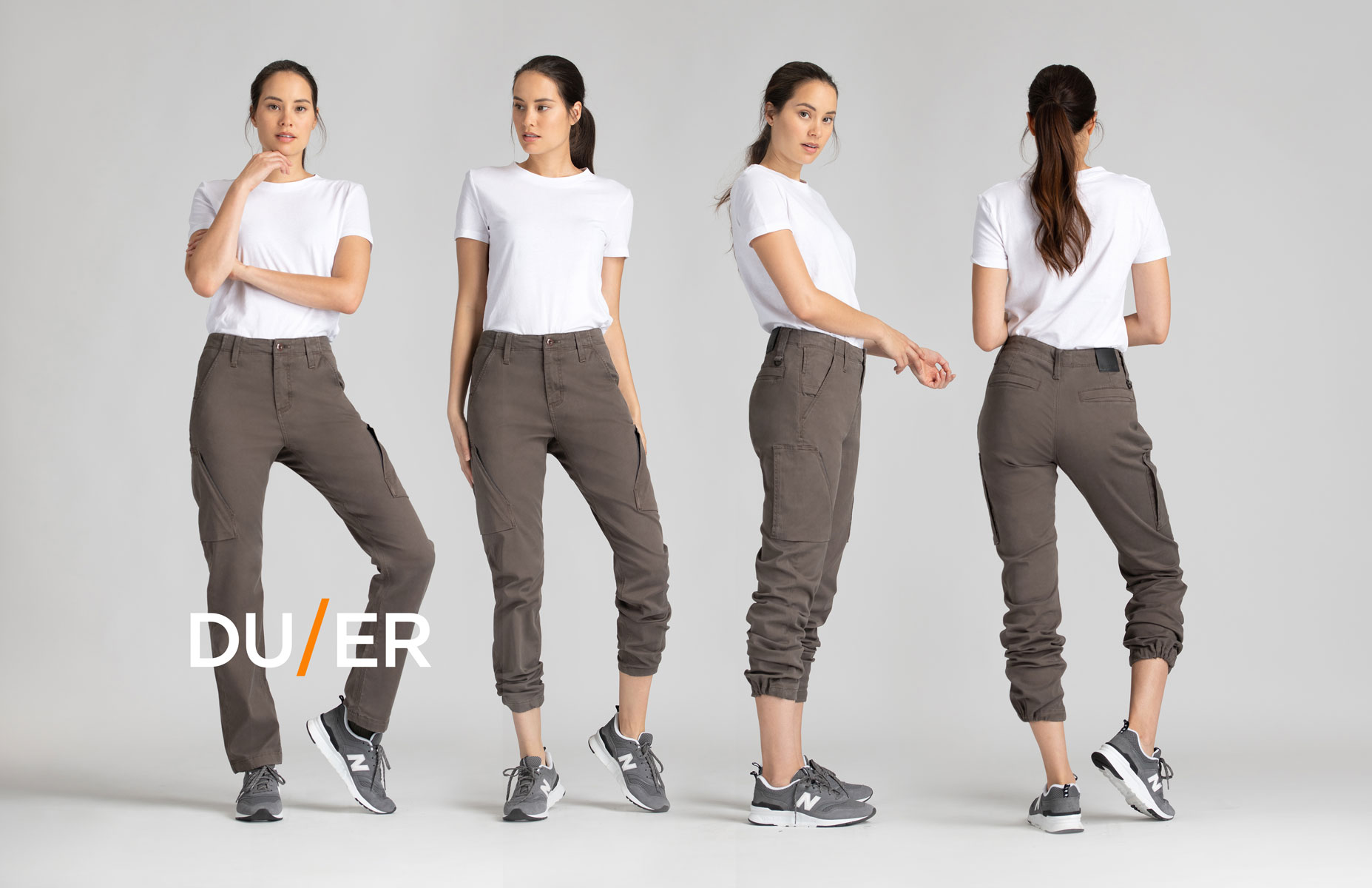 DUER pants fall winter 2020