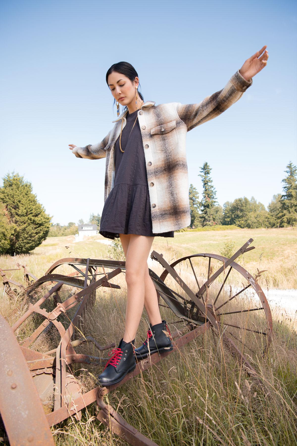 Farm fashion campaign Fall Winter Gustavo Chams